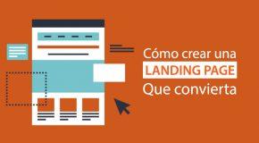 imagen de crear landing page convierta