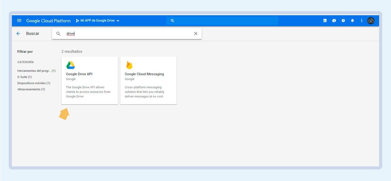 Integrando Google Drive API Web (Actualizado: 29-07-2019