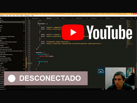 Síguenos en YouTube (Streamings En Vivo)